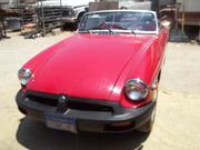 Mg 1977 MG MGB ROADSTER